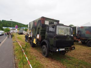 Grote overlandtrucks in Bad Kissingen