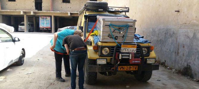 Dag 36-40 (2-6 okt.): De avondspits van Cairo