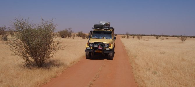 Dag 66-70 (31 okt.-4 nov.): Offroading, desertcamps; avonturen in Sudan!