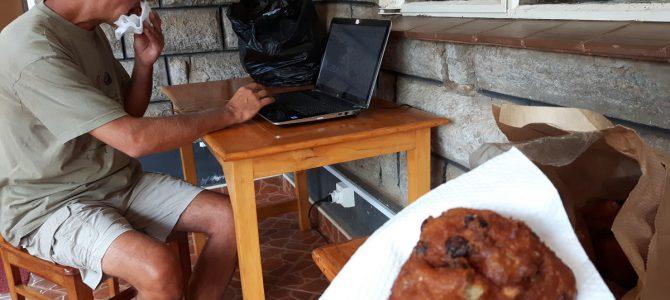 Dag 126-130 (30 dec-3 jan): Oliebollen in Nairobi en fietsen tussen de buffels
