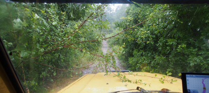 Dag 206-210 (20-24 mrt): Regen in Malawi en de grens over met Zambia