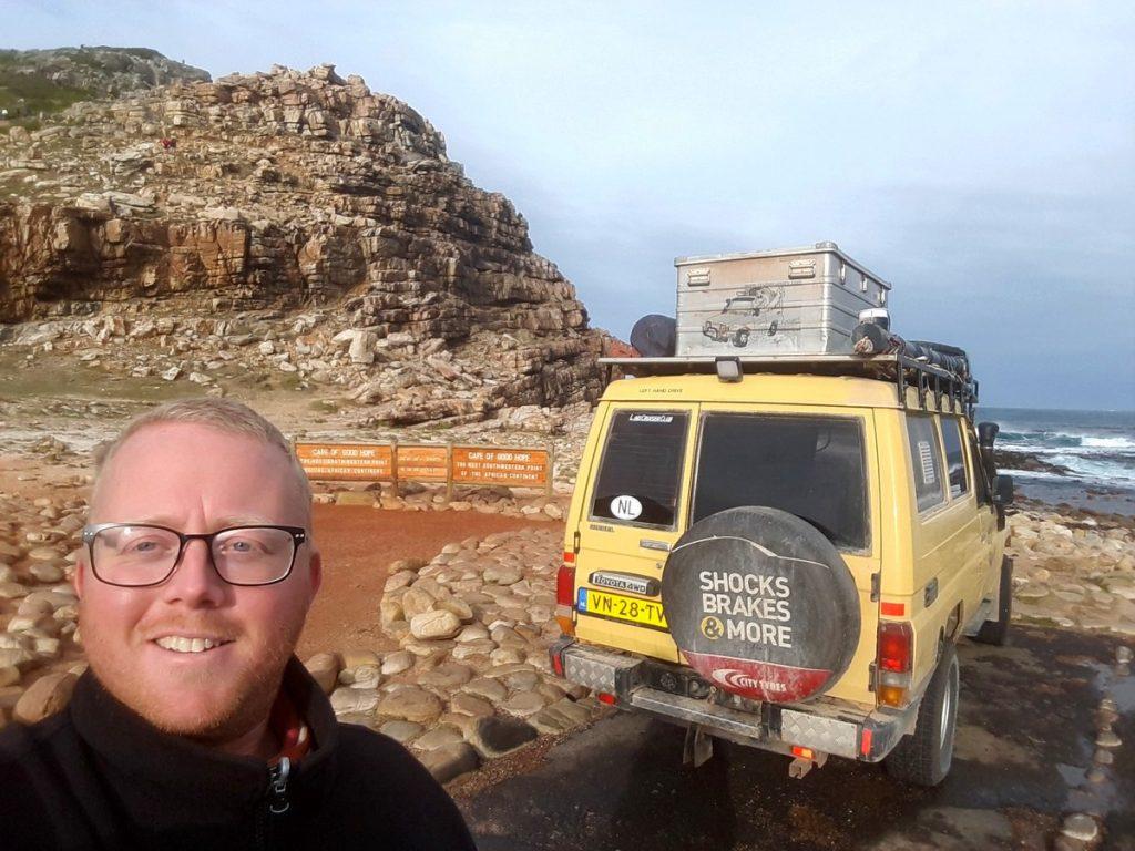 Bjorn bij Kaap De Goede Hoop