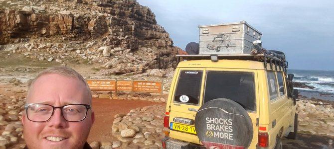 Dag 321-325 (13-17 juli): Kaapstad, Kaap De Goede Hoop en Kaap Agulhas