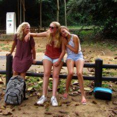 Dag 351-355 (12-16 aug.): Walvissen, strand en gezelligheid in St. Lucia, afscheid van de dames