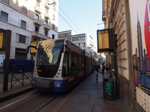 P9068890 Tram 4 in Turijn