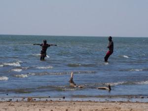 PC078026 - Vissers in Turkana meer onderweg naar Sibiloi NP