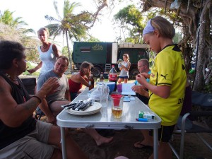 PC258511 - Kerstlunch-diner aan Tiwi beach
