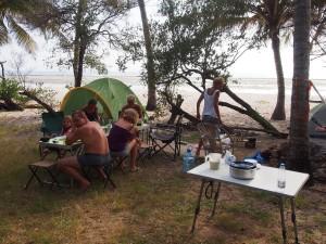 PC268521 - Kerst pannenkoekenontbijt aan Tiwi beach