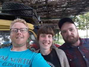 20160917 100759 - Bjorn, Marlike en Ronald in Albanië
