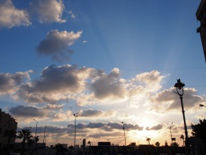 P9291900 - Zonsondergang Alexandrië