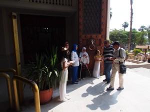 PA062315 - Welkomstcomite Cairo Museum