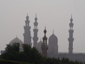 PA093213 - Al-Azhar park Cairo (uitzicht)