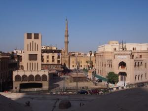 PA133588 - Islamitisch Cairo (uitzicht over Hussein plein)
