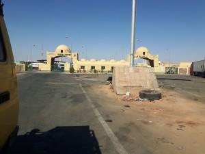 20161026 143040 - Egyptische grenspost