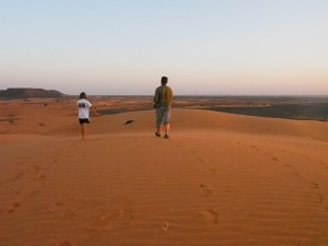 PB025077 - Desert camp bij Meroë