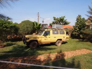 P1160374 - Kampje bij Ewaka Backpackers in Kampala