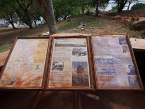 P1200636 - Infoborden bij Speke monument Source of the Nile Gardens