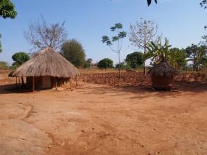 P1210715 - Village walk bij Nyero rotstekeningen
