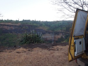 P1220781 - Uitzicht vanaf camping Sipi Falls