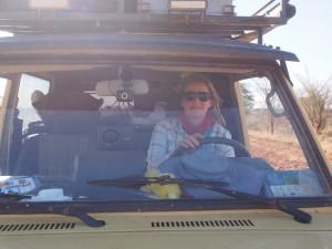P1230823 - Patricia achter het stuur