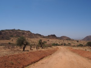 P1230840 - Onderweg naar Karenga