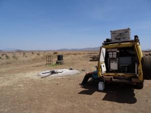 DSC04715 - Lunchkampje in Kidepo NP Foto Patricia