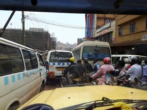 20170201 160521 - Extreme drukte in Kampala