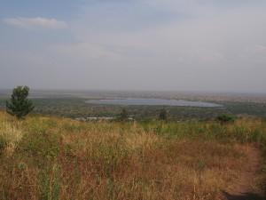 P2051968 - Uitzicht op George meer Simba Safari Camp