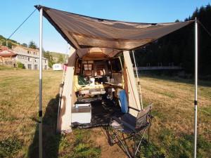 Mijn kampementje