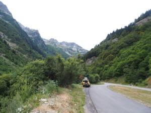 Kookstekkie onderweg in de Alpen