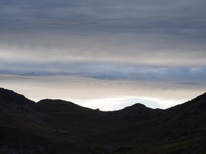 Zonsopkomst bij de Col du Glandon