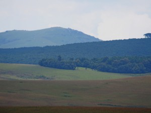 P3094401 - Chelinda Campsite vanaf Chosi Viewpoint Nyika NP