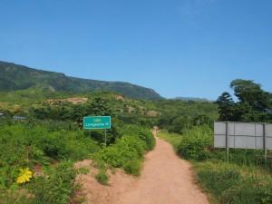 P3053684 - Begin van de weg naar Livingstonia