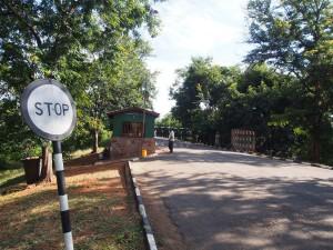 P3295441 - Mfuwe ingang South Luangwa NP