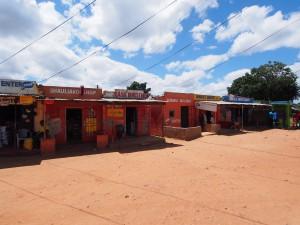 P4015832 - Marktje vlak voor Lusaka