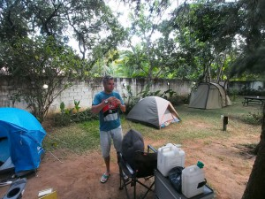 P4086131 - File-kamperen bij Wanderers Backpackers Lusaka