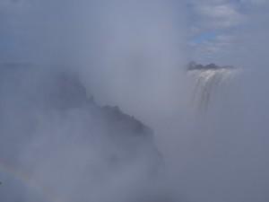 P4176397 - Victoria watervallen, links Danger Point Zimbabwe