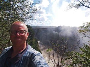 P4176561 - Selfie bij Victoria watervallen