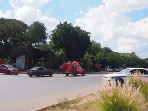 P4186641 - Landcruiser brandweerauto Livingstone