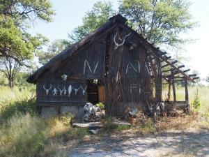 P4297515 - Vervallen gebouw Mudumu NP