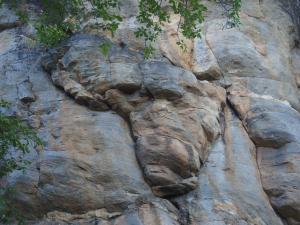 P5027698 - Afrika rots Tsodilo Hills