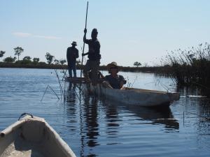 P5098123 - Tegenliggers Okavango delta