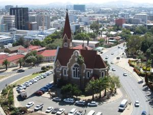 IMG 0123 - Christuskirche vanaf Nationaal Museum, Windhoek