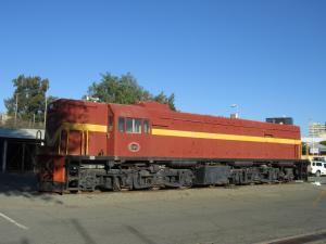 IMG 0164 - Locomotief bij station Windhoek