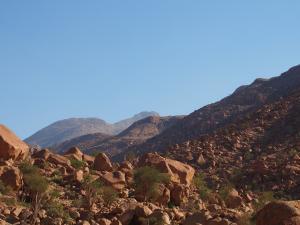 P6081166 - Hoogste punt van Namibië, Brandberg
