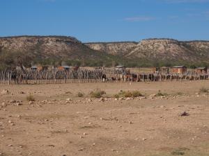 P6192022 - Himba dorpje