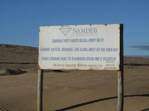 IMG 0652 - Sperrgebiet bord bij Kolmanskop