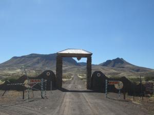 IMG 0855 - Toegangspoort Brukkaros vulkaan