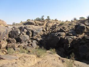 IMG 1158 - Flink klauteren over rotsen in Augrabies NP