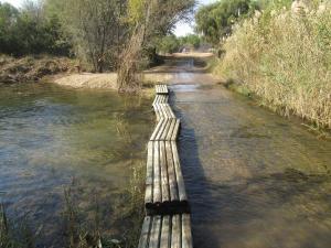 IMG 1178 - Dit is wel water, en daar moet je doorheen